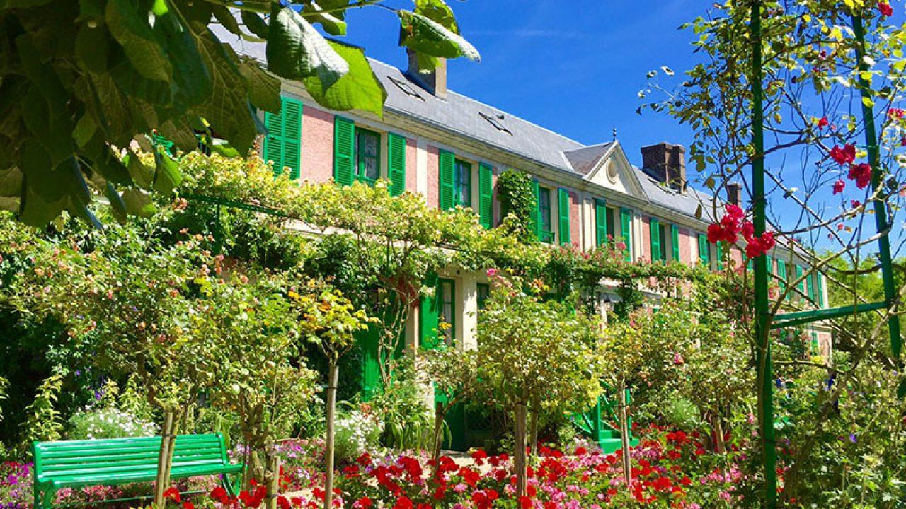 Claude Monet'nin Giverny'deki Evi - Pariste à Salon De Jardin But
