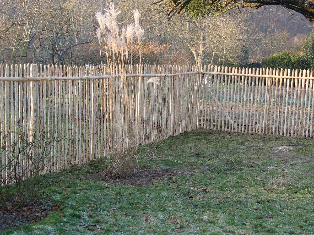 Cloture Chataignier | * Clôture * | Garden Gates, Private ... dedans Cloture Jardin Chataignier