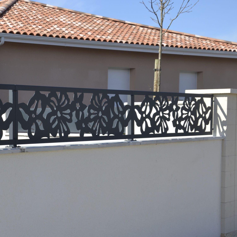 Clôture De Jardin / En Treillis Soudé / En Métal Palissa ... avec Treillis Metal Jardin