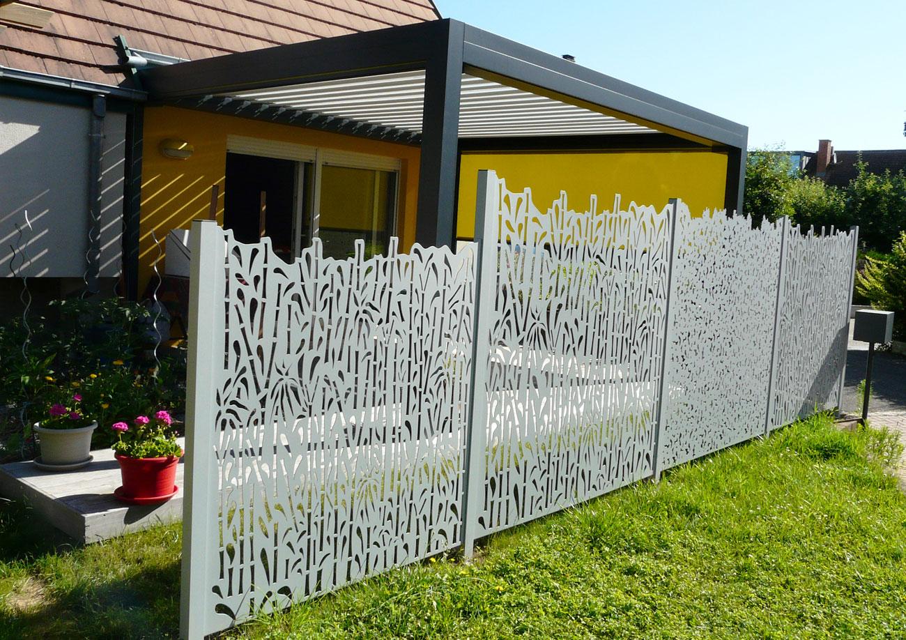Clôture De Jardin Et Occultant - Les Nouveaux Paysagistes dedans Cloturer Un Jardin