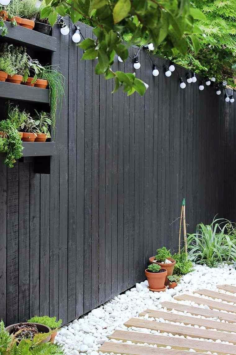 Clôture De Jardin : Idées Déco Et Diy | Jardin | Jardins ... tout Clotures De Jardin