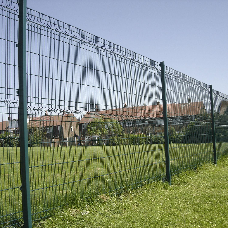 Clôture De Jardin / Pour Espace Public / Pour Espaces Verts ... concernant Cloture Jardin Grillage Rigide