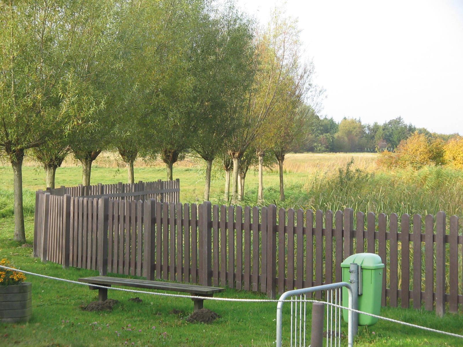 Clôture De Jardin / Pour Espaces Verts / Pour Espace Public ... pour Planche Pour Cloture Jardin
