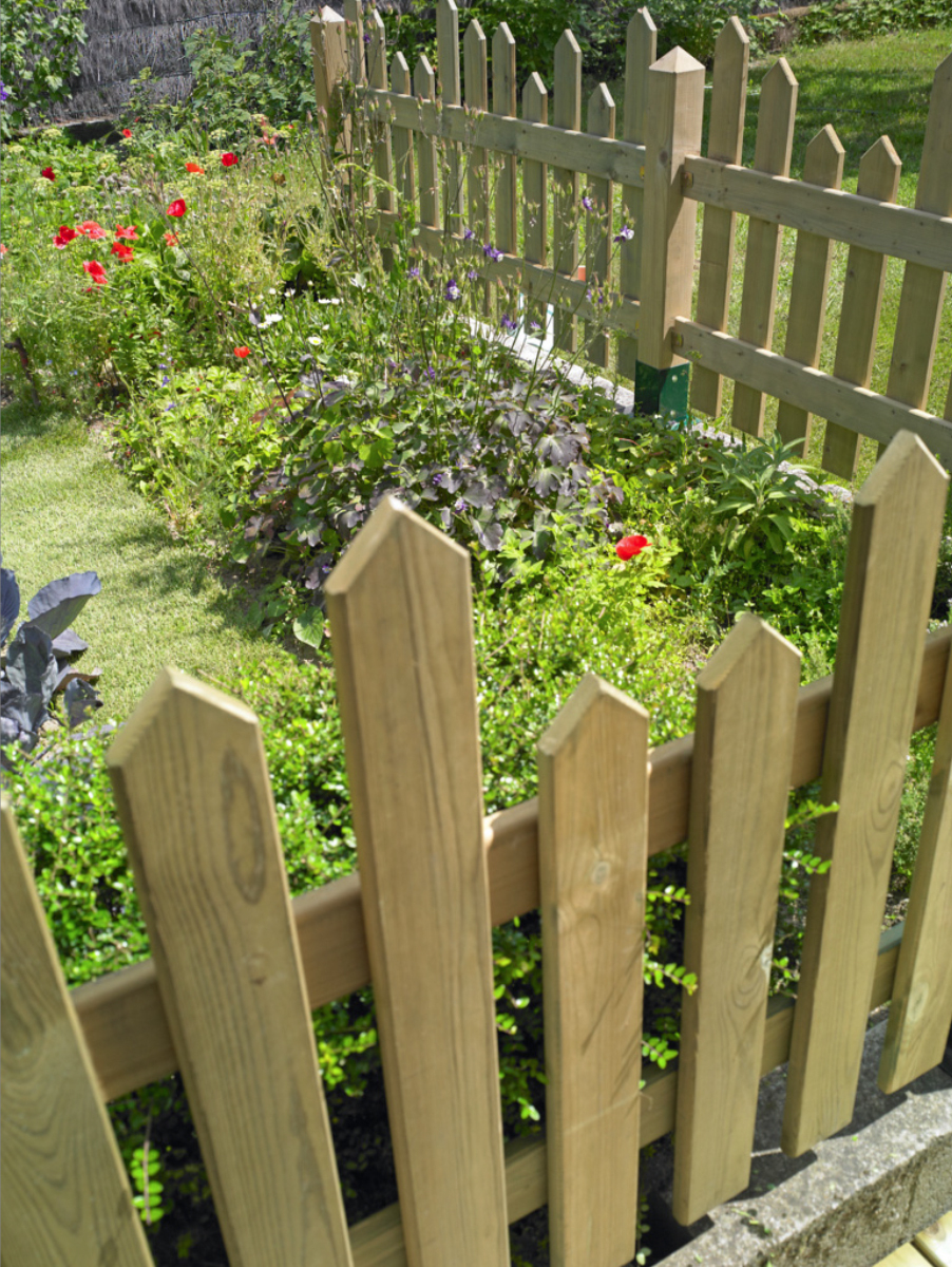 Clôturer Son Jardin | Pratique.fr serapportantà Cloturer Un Jardin