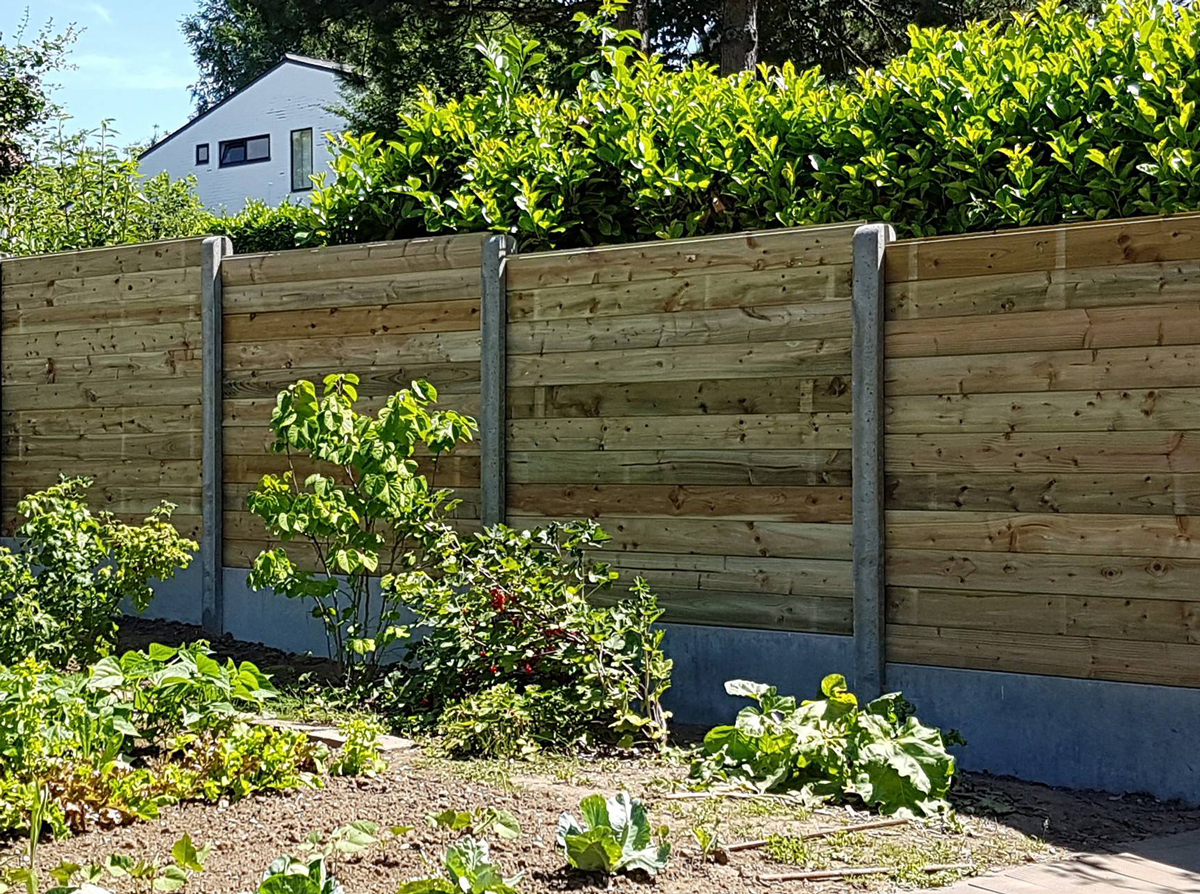 Clôtures Et Panneaux De Séparation | Les Services De Greenrod encequiconcerne Panneau Separation Jardin