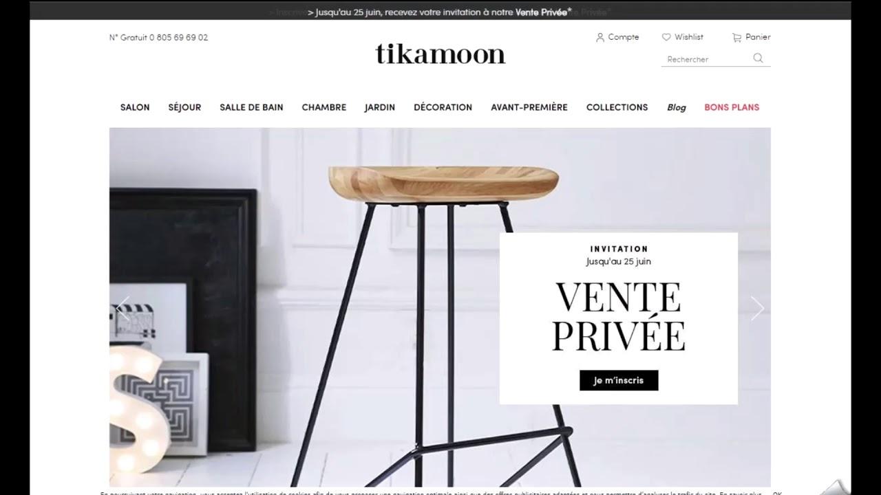 Code Promo Tikamoon Vérifié En Vidéo encequiconcerne Vente Privée Jardin
