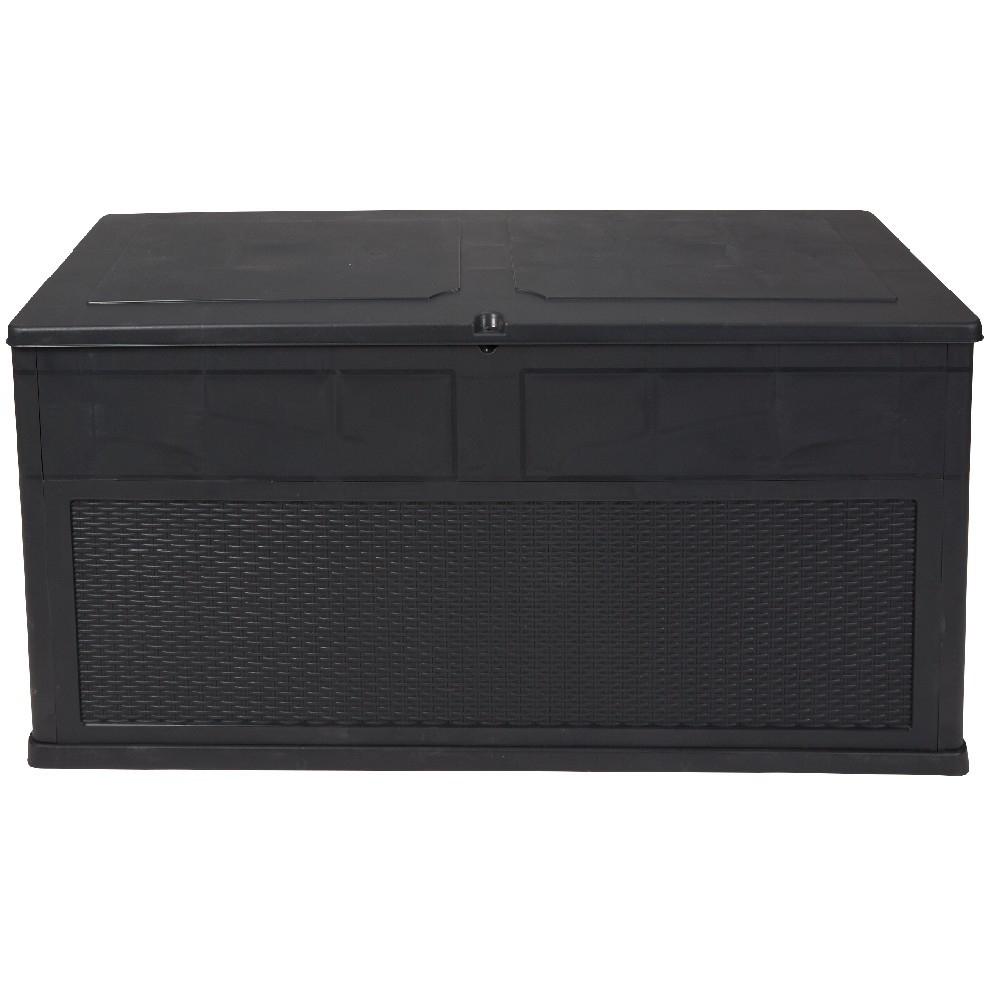 Coffre 320 L Noir à Salon De Jardin Gifi Catalogue