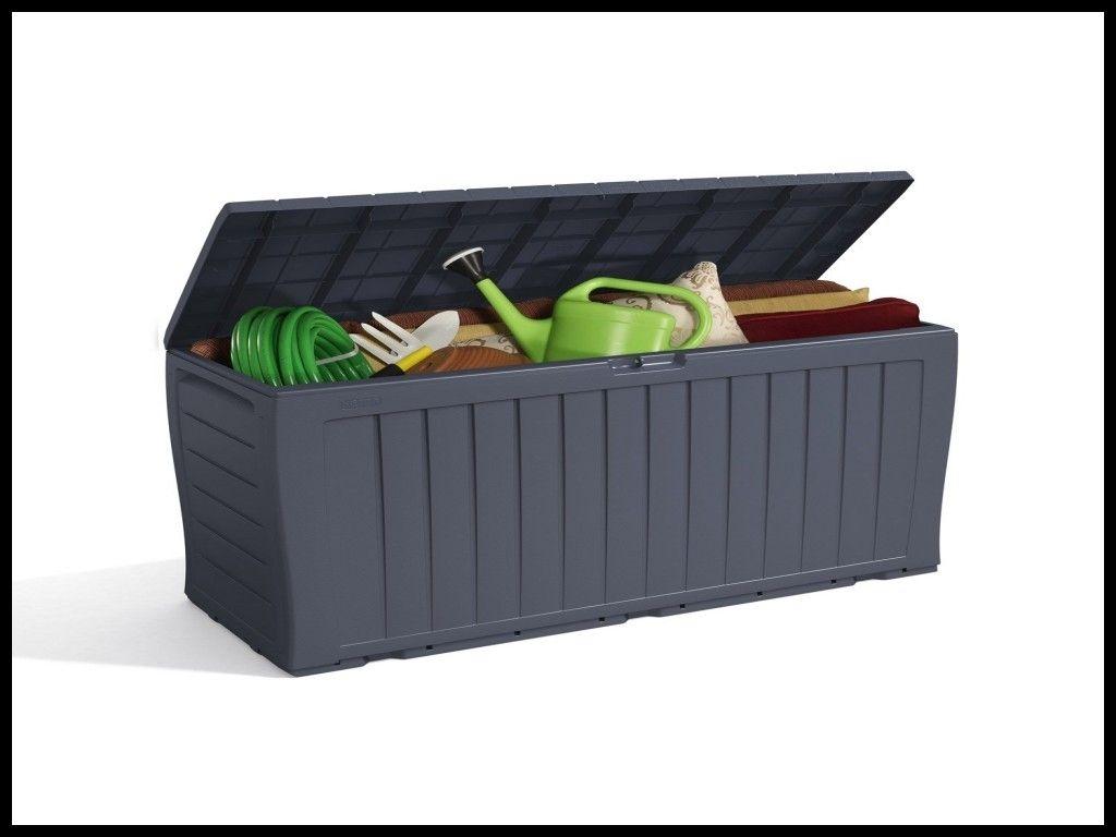Coffre De Jardin Bricoman | Plastic Garden Storage Box ... intérieur Coffre De Jardin Bricoman