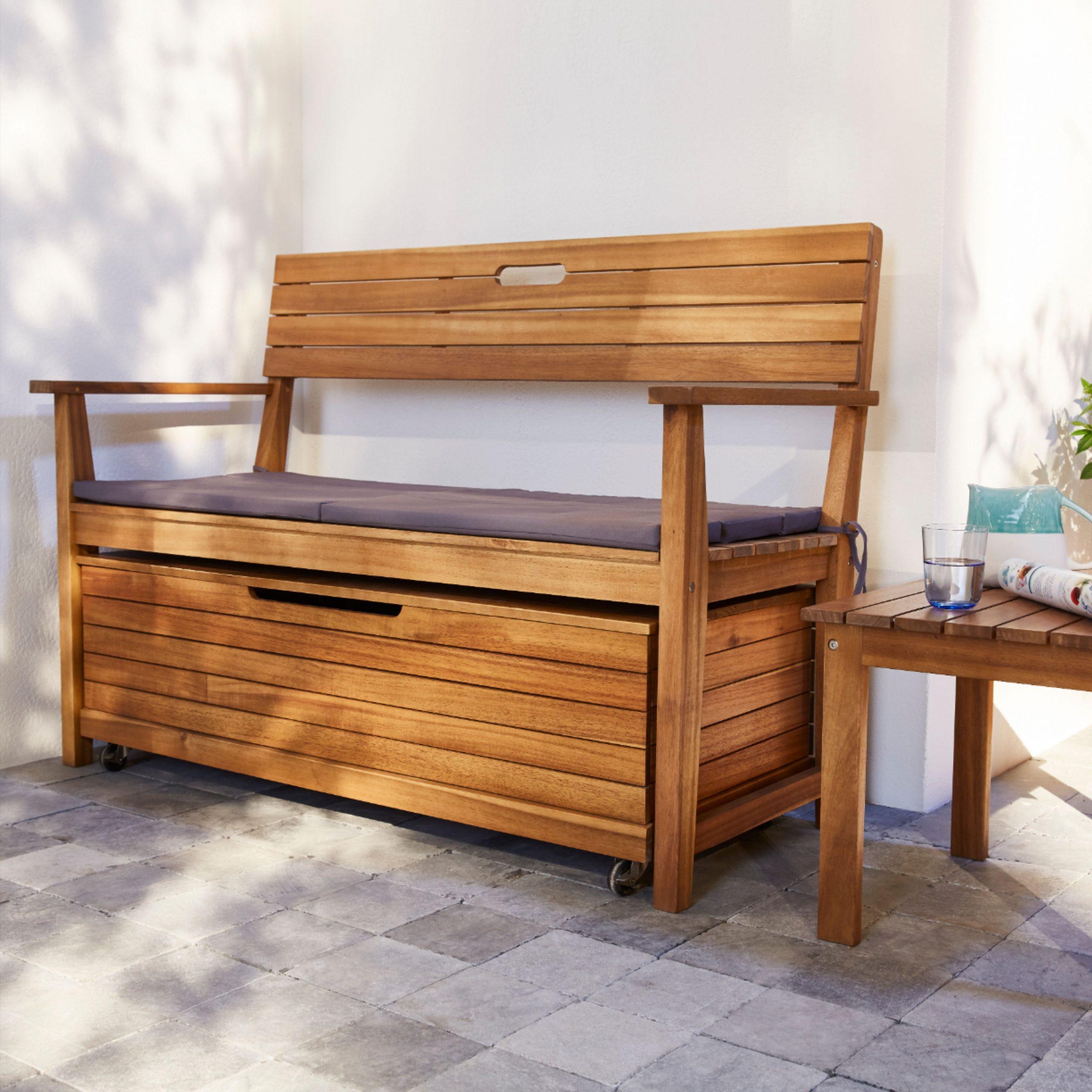 Coffre De Jardin Denia | Coffre De Jardin, Décoration Maison ... à Castorama Coffre De Jardin