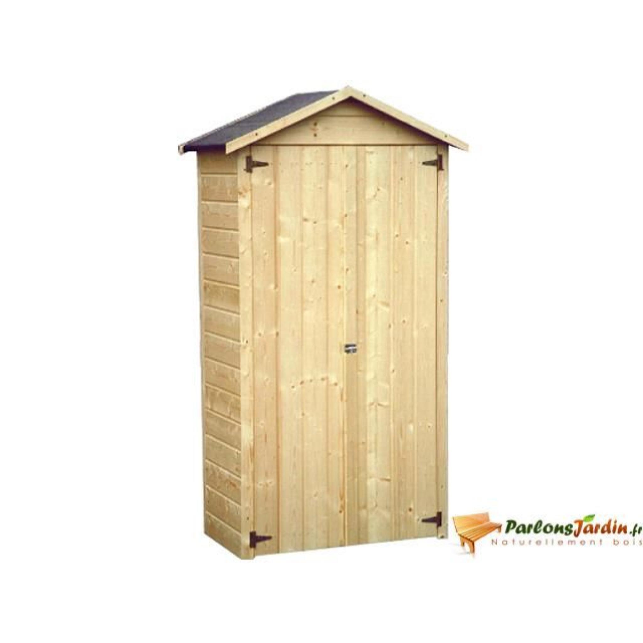 Coffre De Jardin Jura 0,47M² avec Cabane De Jardin En Bois Pas Cher