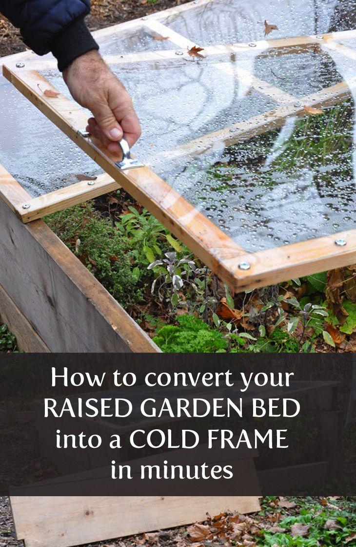 Cold Frame How-To   Froid   Jardins, Jardin Potager Et Jardinage intérieur Chassis Jardin