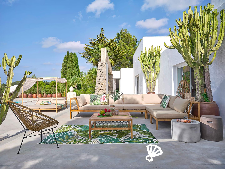 Collection Jardin 2020   Maisons Du Monde encequiconcerne Salon De Jardin Bambou