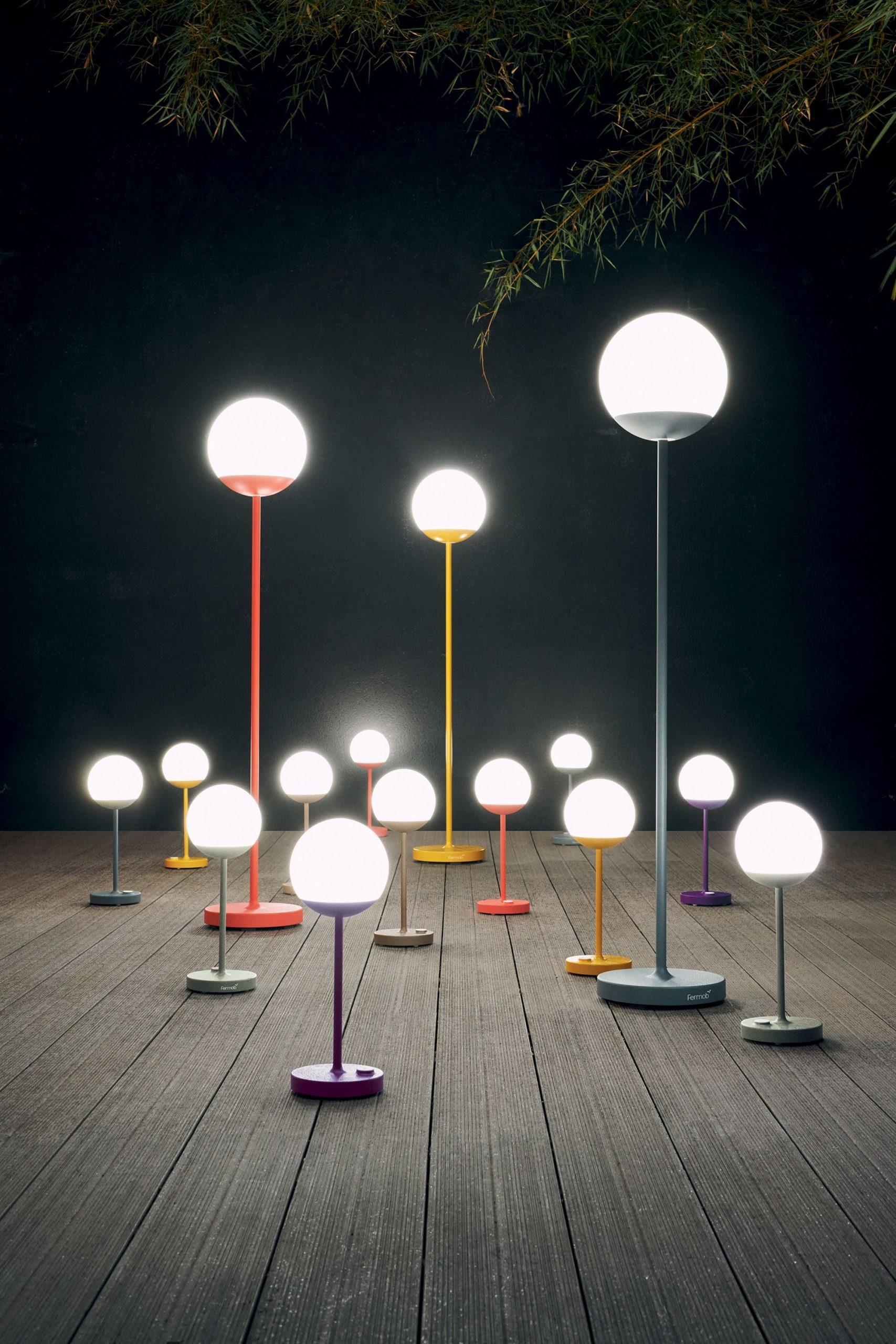 Collection Mooon! - Fermob - Lampe De Jardin Sans Fil ... encequiconcerne Lampadaire De Jardin Sur Pied