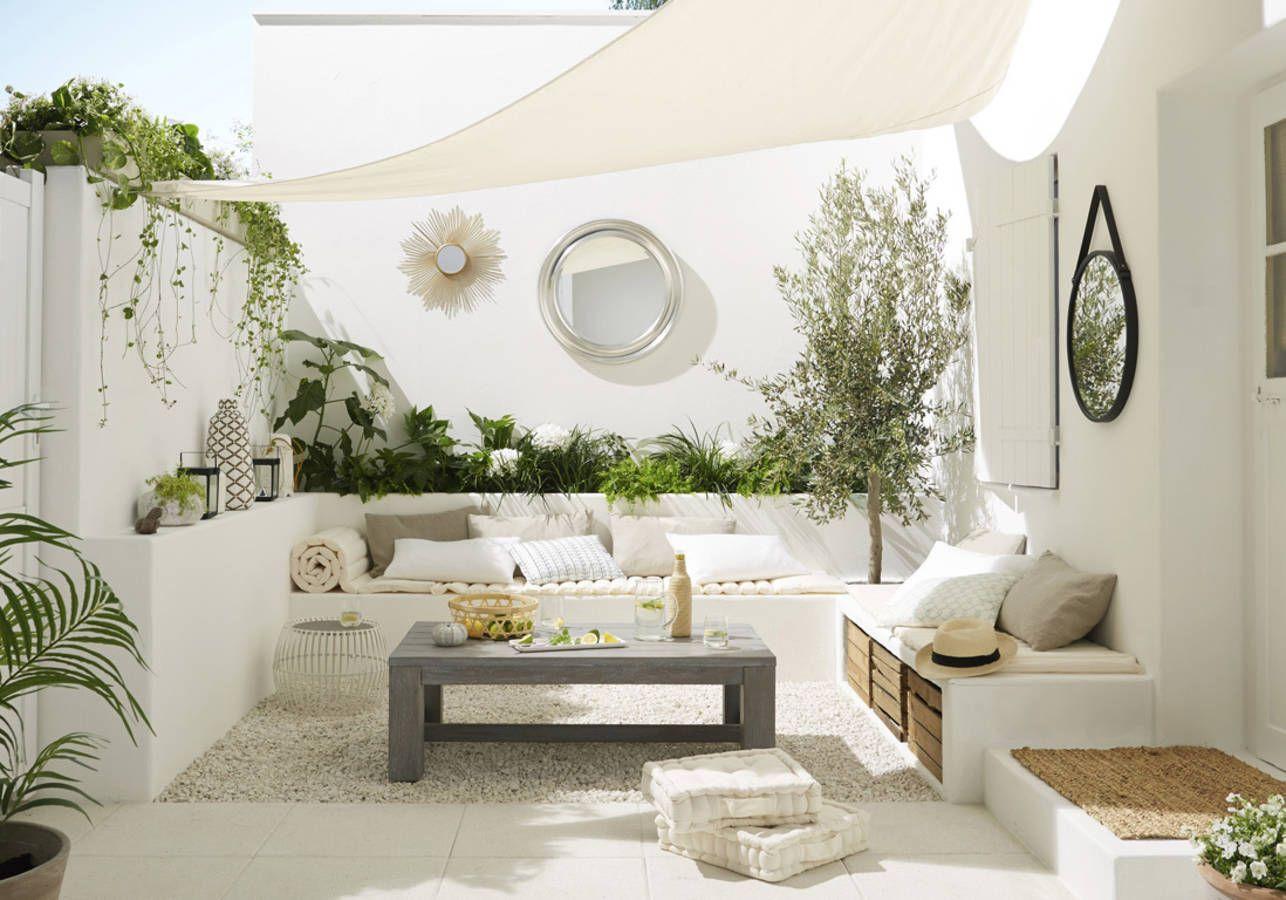 Comment Aménager Son Extérieur, Jardin, Terrasse Ou Balcon ... serapportantà Salon De Jardin Cocoon