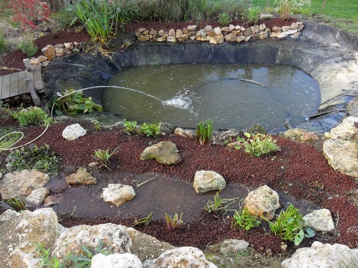 Comment Aménager Un Bassin Dans Son Jardin ? à Creation Cascade Bassin Jardin