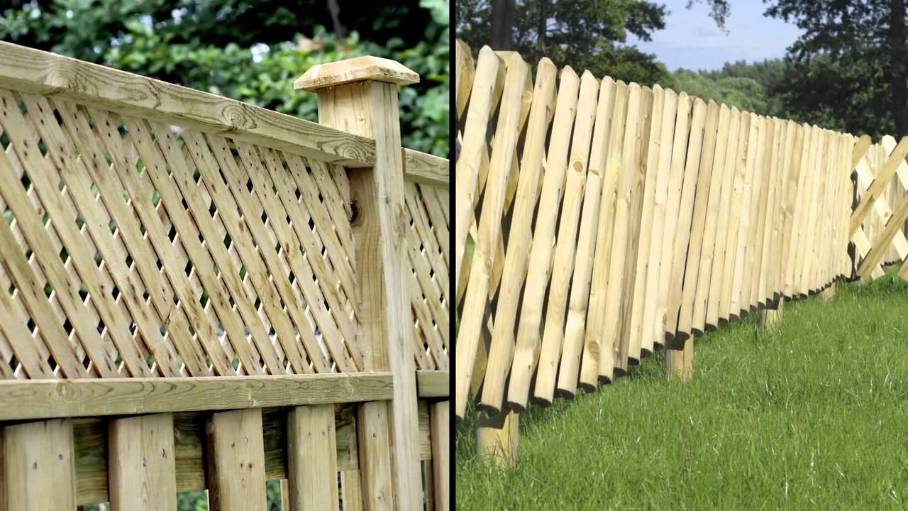 Comment Appliquer Une Lasure Sur Des Clôtures En Bois Au Moyen D'un  Pulvérisateur ?   Xyladecor tout Barriere De Jardin Bois