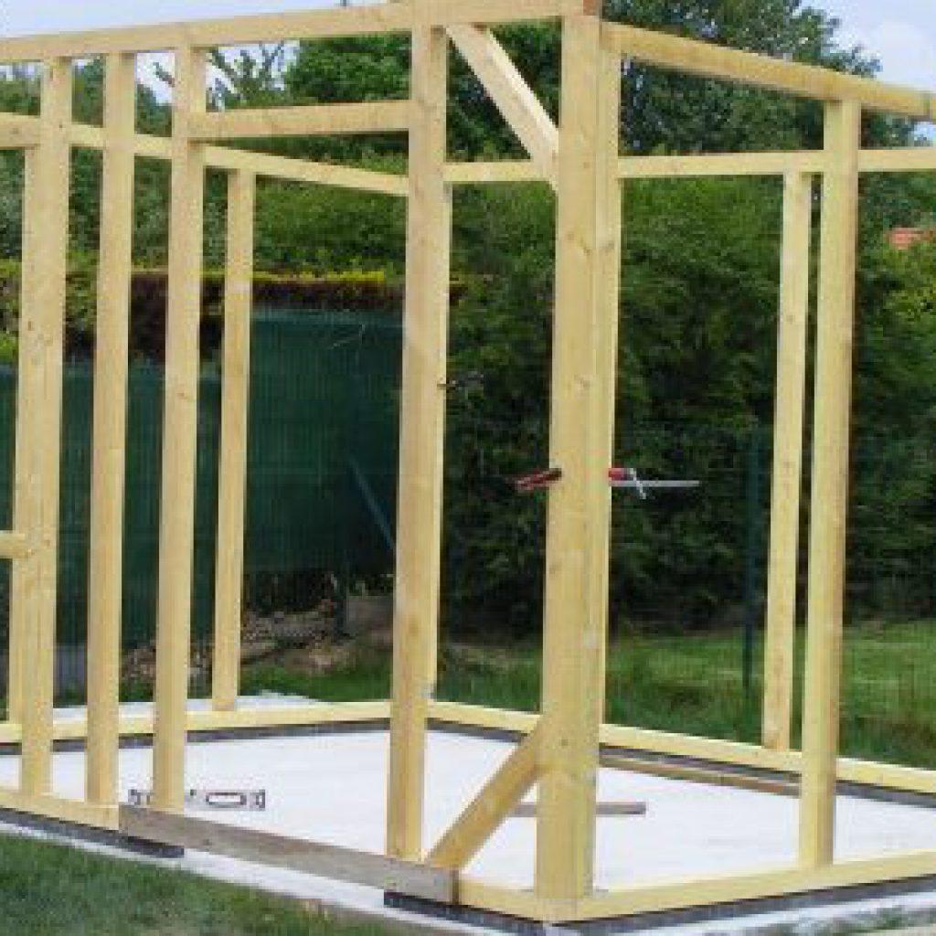 Comment Construire Un Abri De Jardin - Mon Coach Brico dedans Plan Cabane De Jardin
