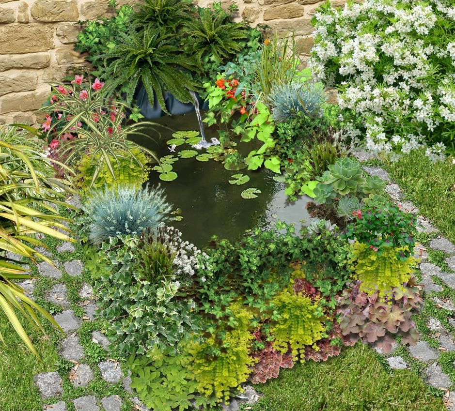 Comment Construire Un Bassin Au Jardin Avec Des Palettes ... serapportantà Construire Un Bassin De Jardin