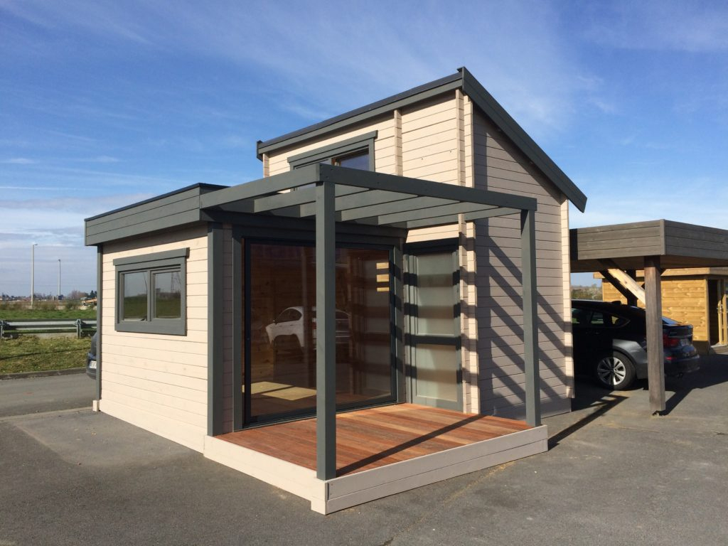 Comment Construire Un Studio De Jardin Habitable ? encequiconcerne Abri De Jardin Habitable