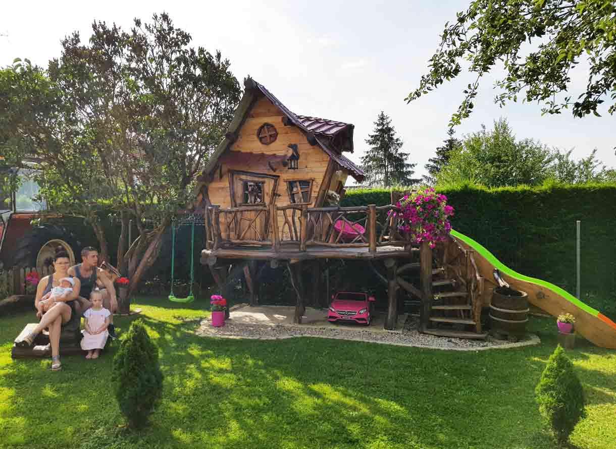 Comment Construire Une Cabane En Bois Dans Le Jardin ... dedans Construire Une Cabane De Jardin
