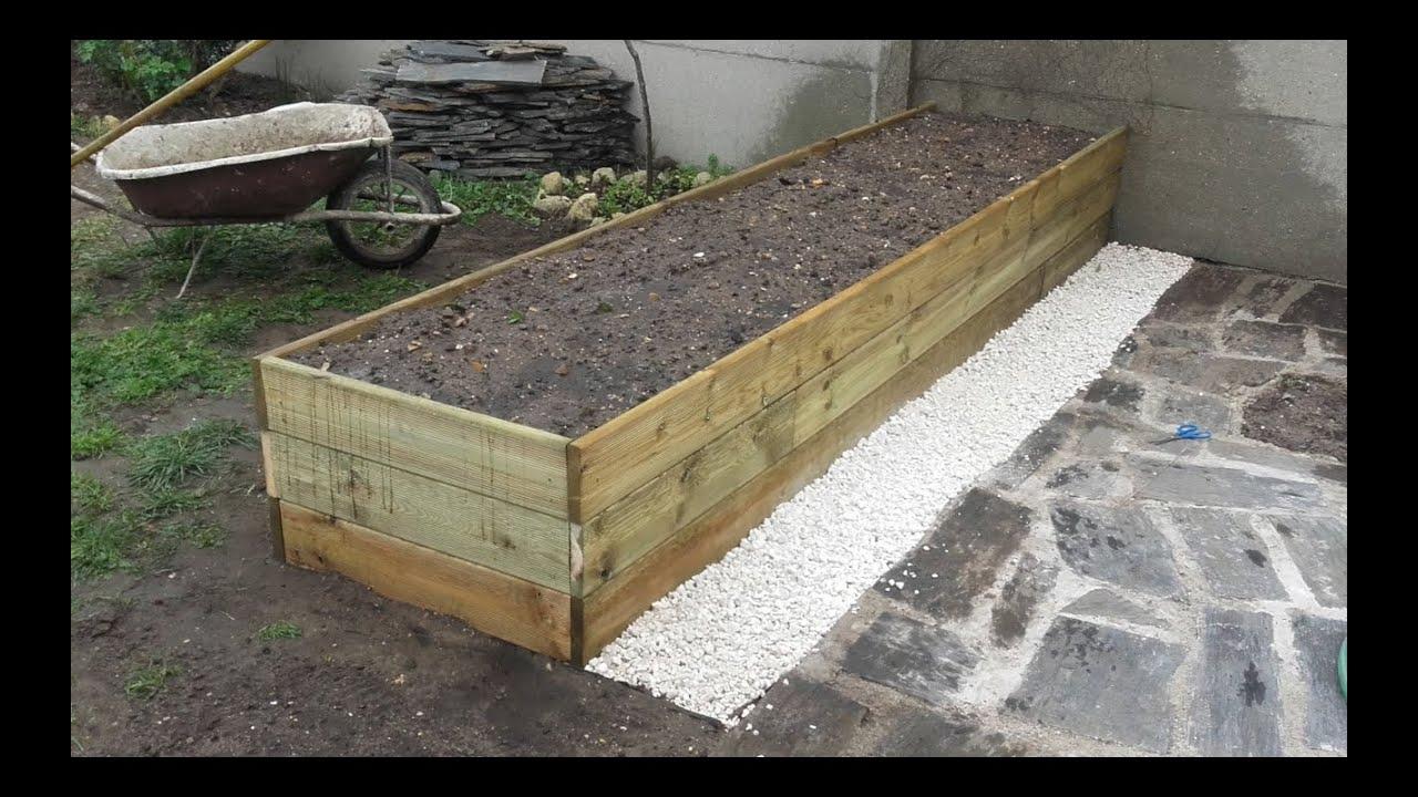 Comment Construire Une Grande Jardinière destiné Fabriquer Un Jardin En Hauteur