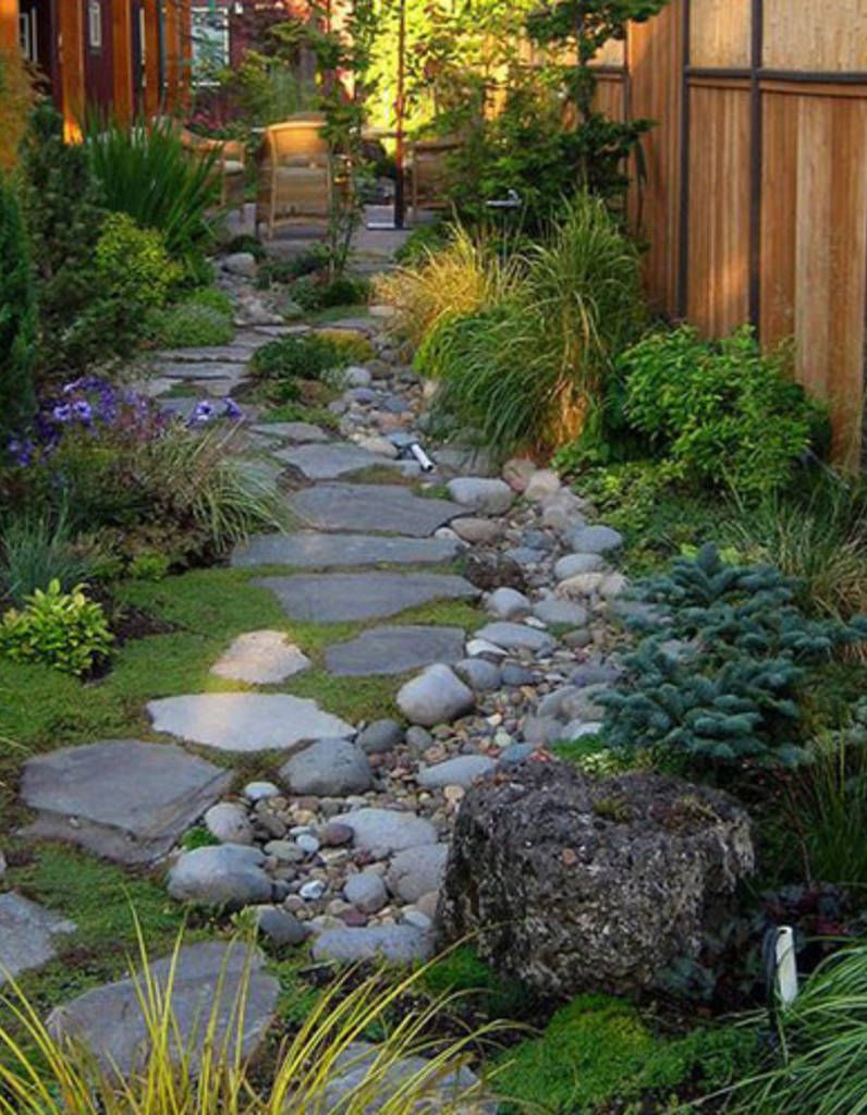 Comment Créer Un Jardin Alpin Sur Une Terrasse? | Mini ... destiné Comment Creer Un Jardin Paysager