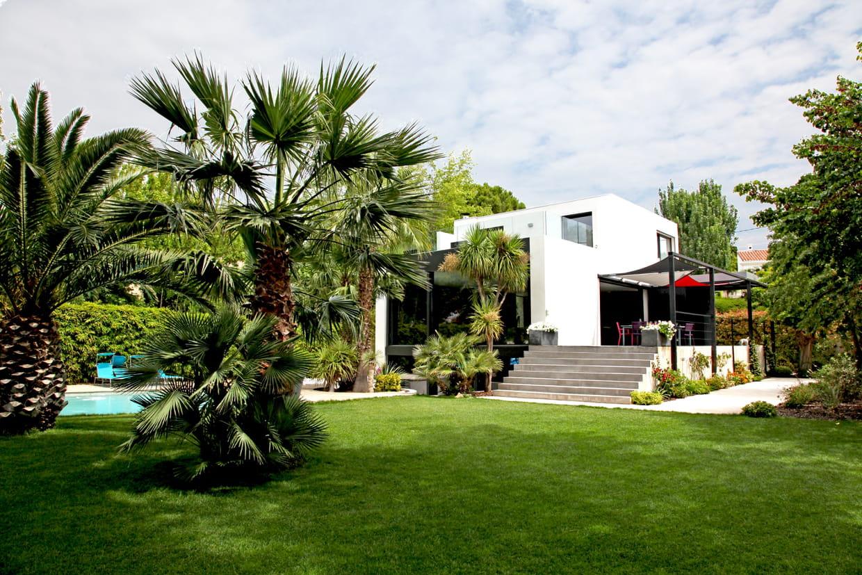 Comment Créer Un Jardin Exotique ? destiné Comment Aménager Son Jardin Devant La Maison