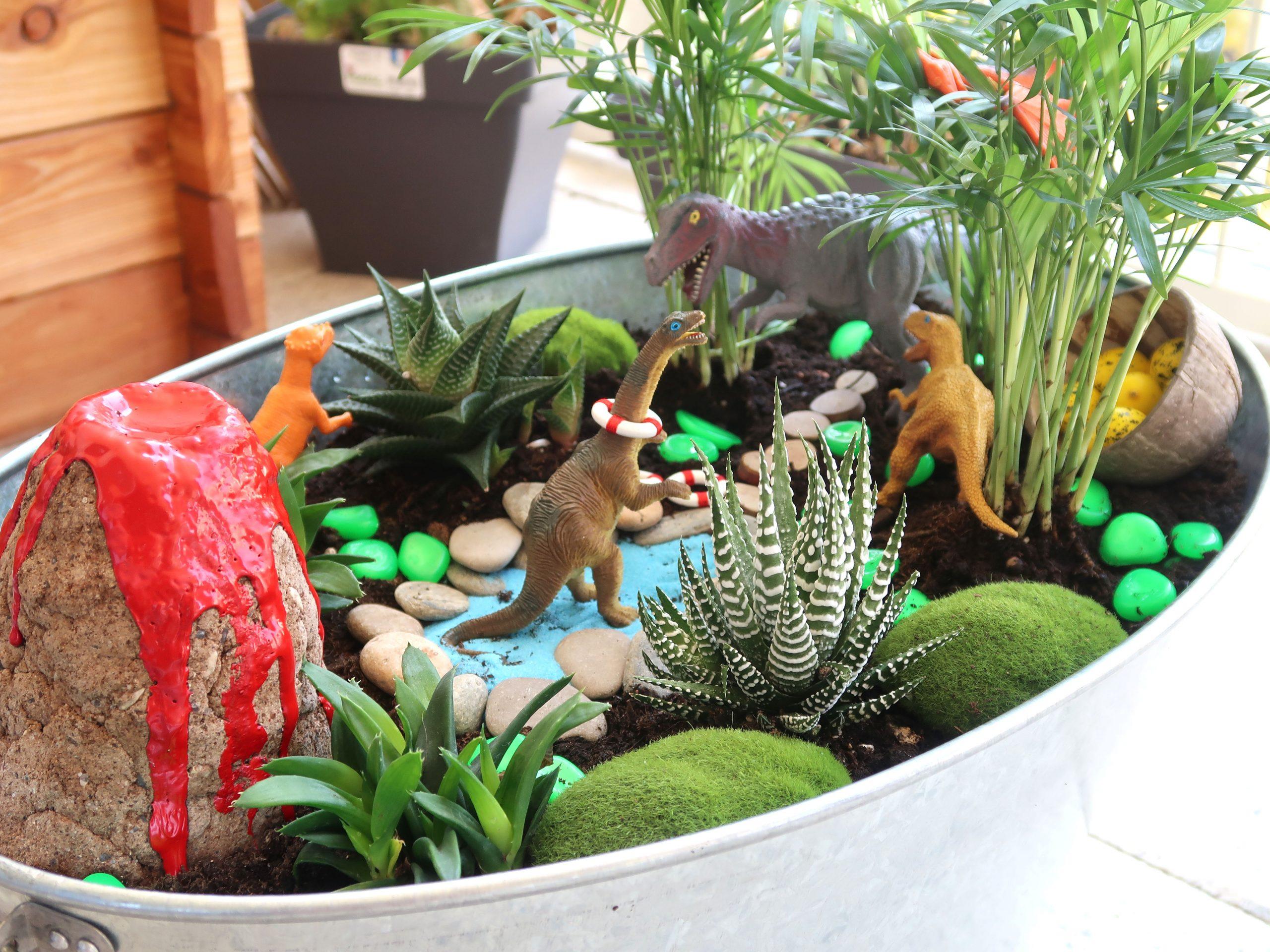 """Comment Créer Un Jardin Miniature """"fairy Garden"""" Avec Les Kids dedans Créer Un Mini Jardin Japonais"""