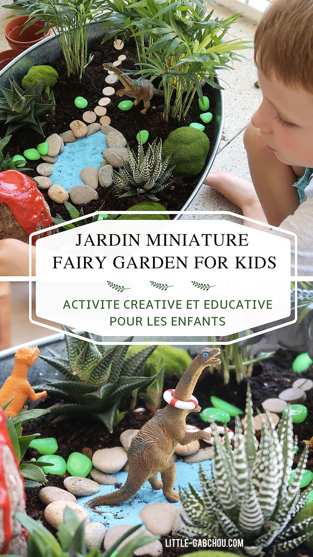 """Comment Créer Un Jardin Miniature """"fairy Garden"""" Avec Les Kids tout Decoration De Jardin A Faire Soi Meme"""