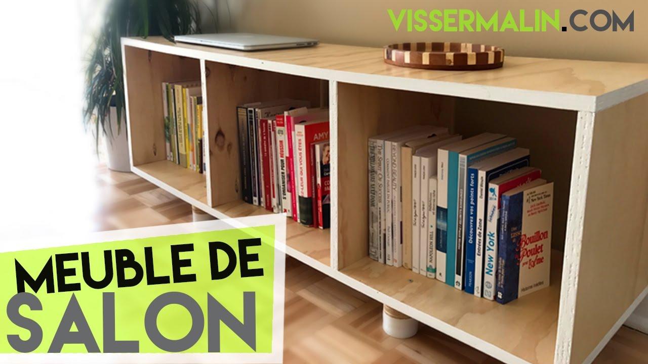 Comment Fabriquer Un Meuble Bas De Salon - Ep37 tout Mobilier De Jardin Ikea