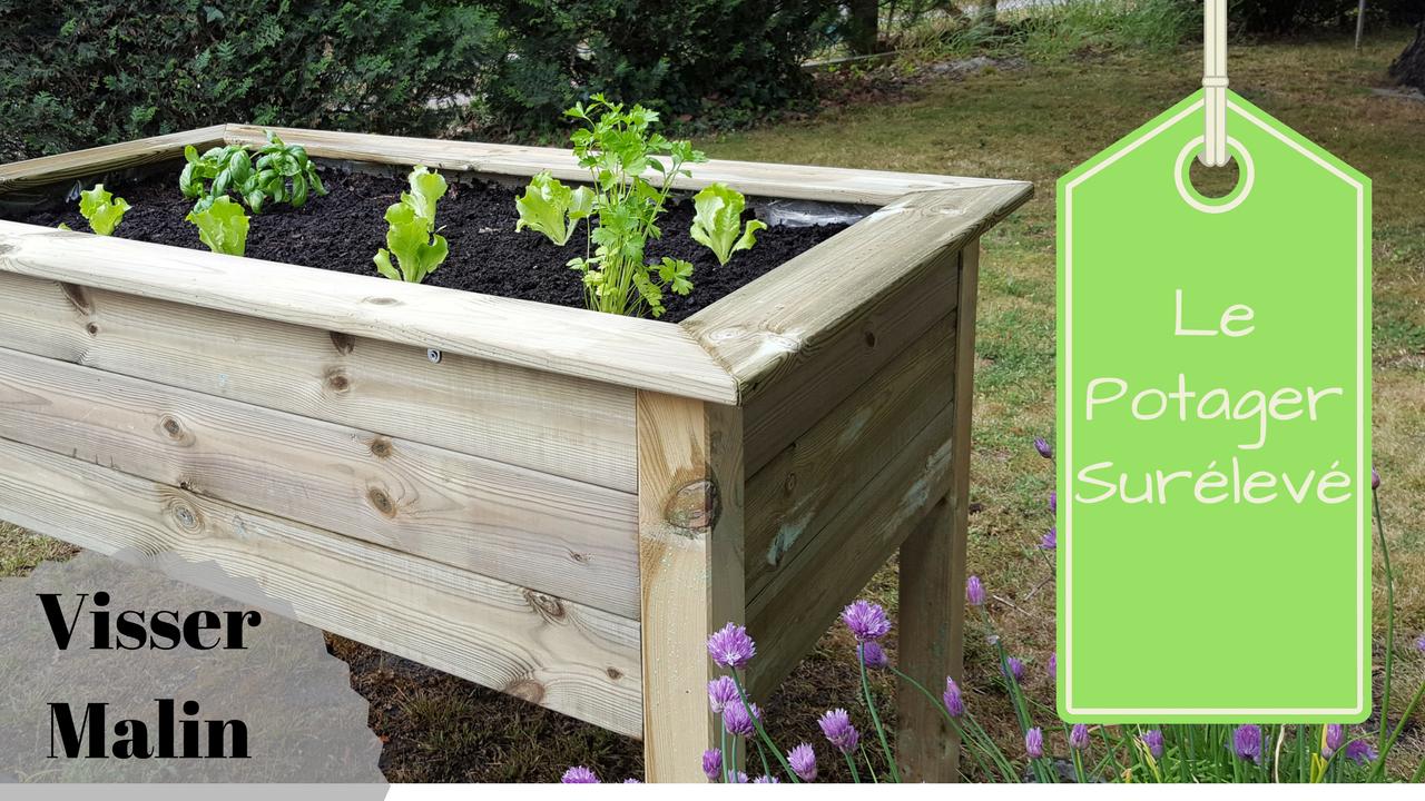 Comment Fabriquer Un Potager Surélevé | Jardinage | Potager ... à Jardin En Carré Surélevé
