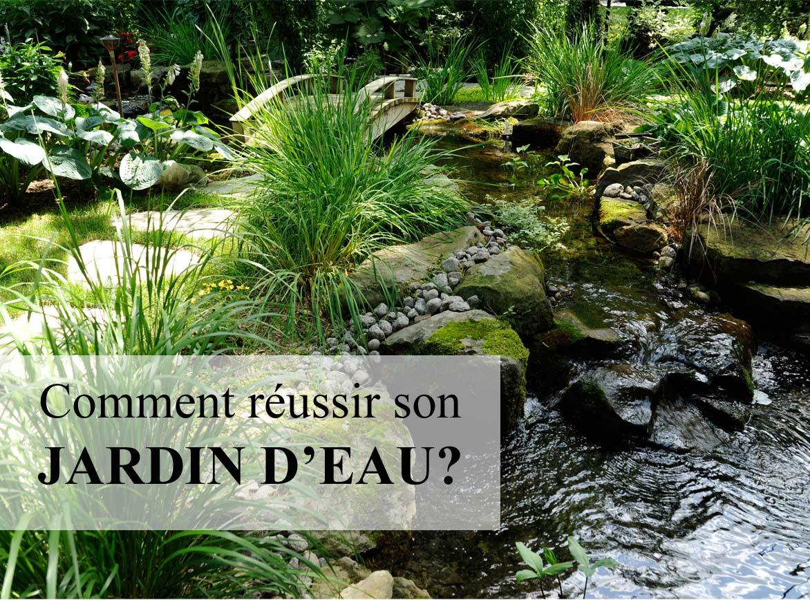 Comment Faire Son Jardin D'eau : Trucs Et Astuces Pour ... à Creation Cascade Bassin Jardin