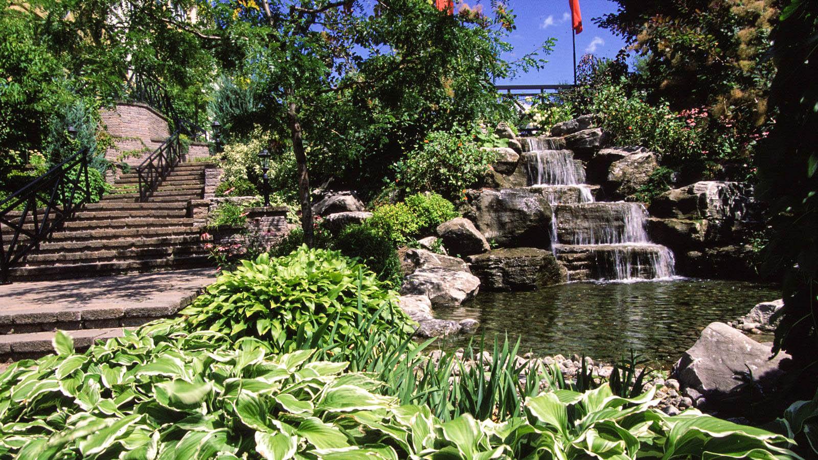 Comment Faire Son Jardin D'eau : Trucs Et Astuces Pour ... tout Fontaine Naturelle Jardin