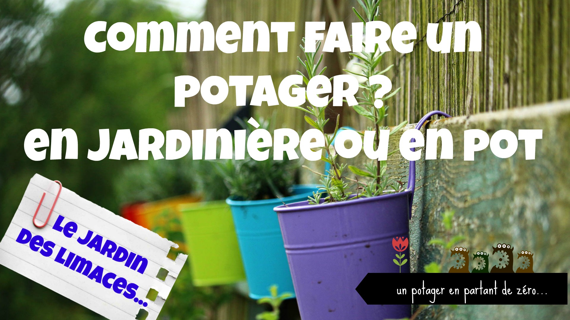 Comment Faire Un Potager : En Jardinière Ou En Pot dedans Jardin En Pots Potager