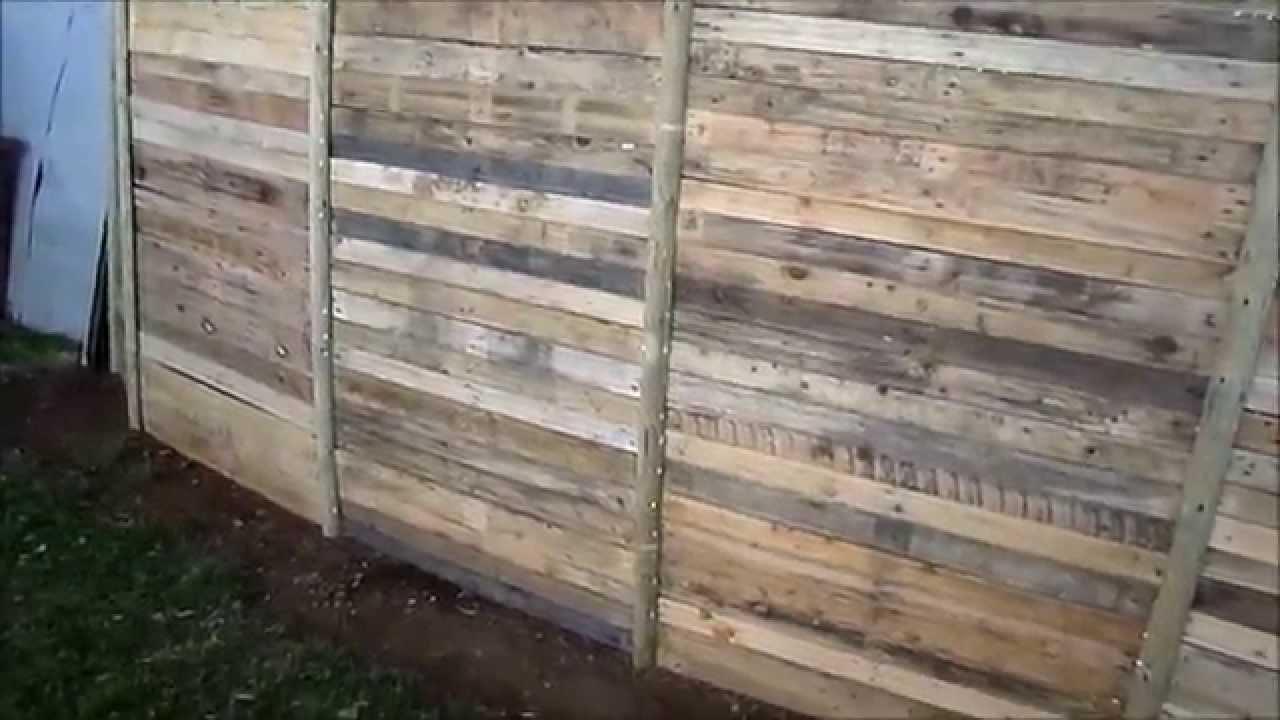 Comment Faire Une Palissade Pour Pas Un Sous dedans Palissade Jardin Pas Cher