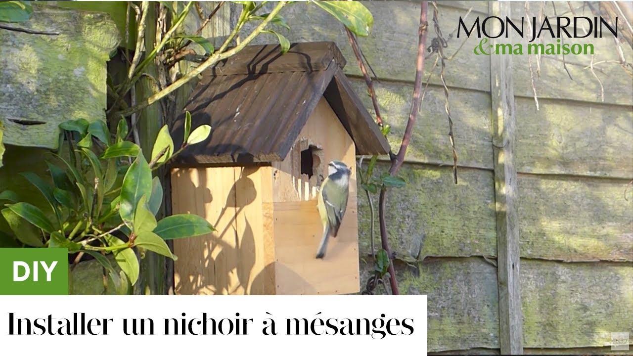 Comment Installer Un Nichoir À Mésanges ? destiné Abri Oiseau Jardin