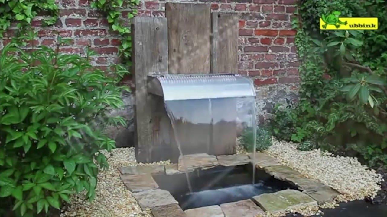 Comment Installer Une Fontaine De Jardin ? - Jardinerie Truffaut Tv pour Construire Fontaine De Jardin