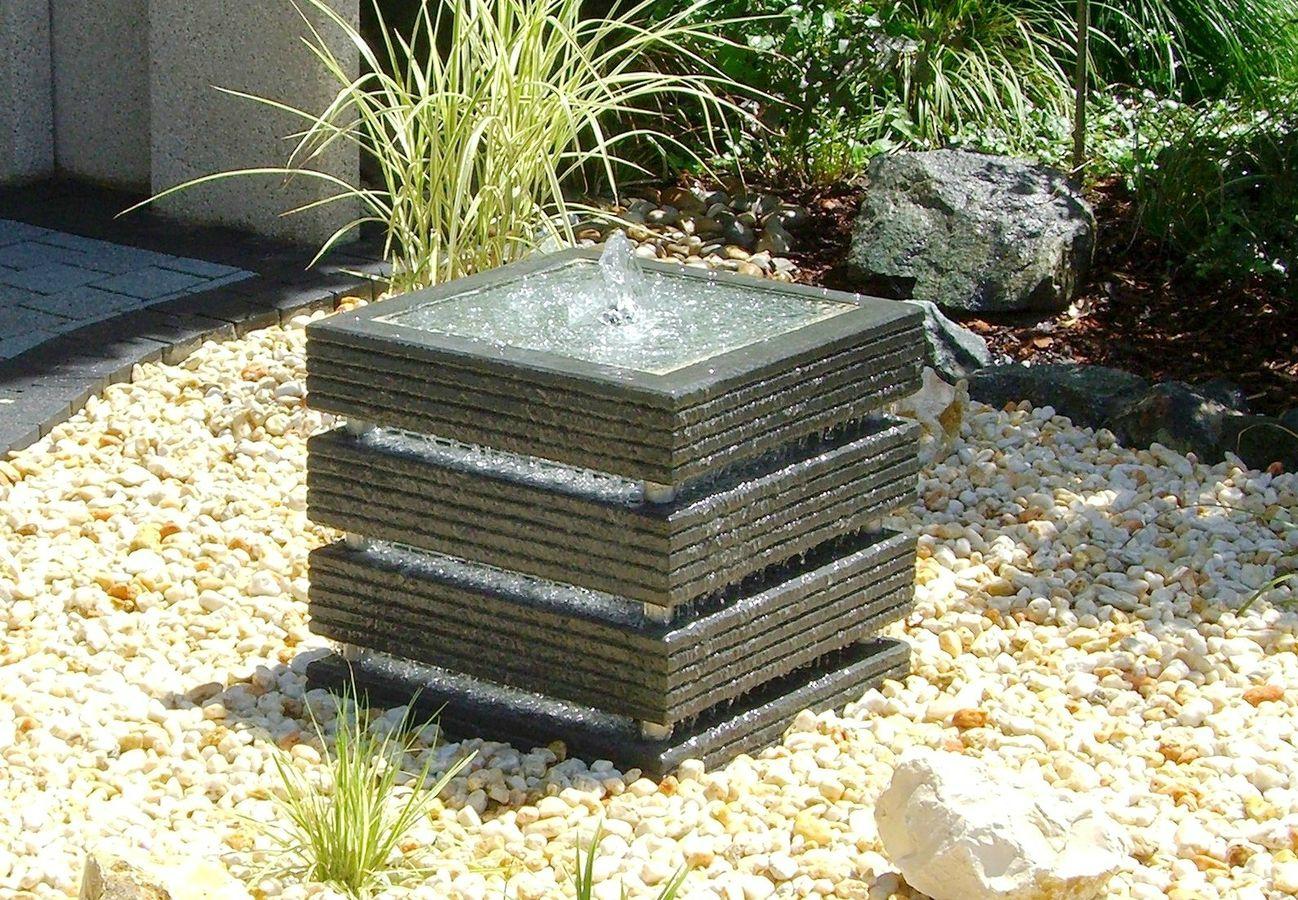 Comment Installer Une Fontaine De Jardin ? - Mon Jardin ... avec Installation Fontaine De Jardin