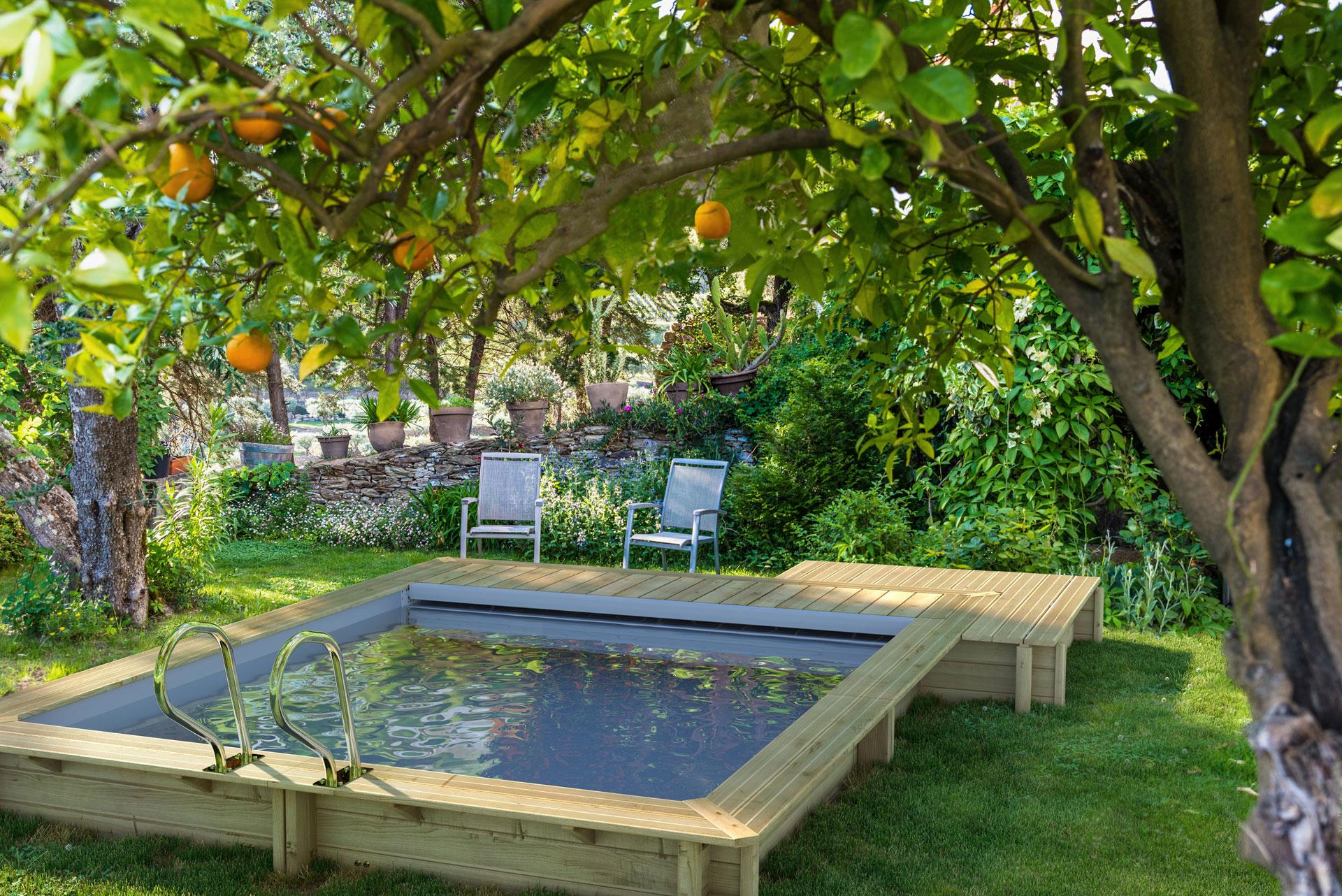 Comment Installer Une Piscine Dans Un Petit Jardin intérieur Petit Jardin Avec Bassin