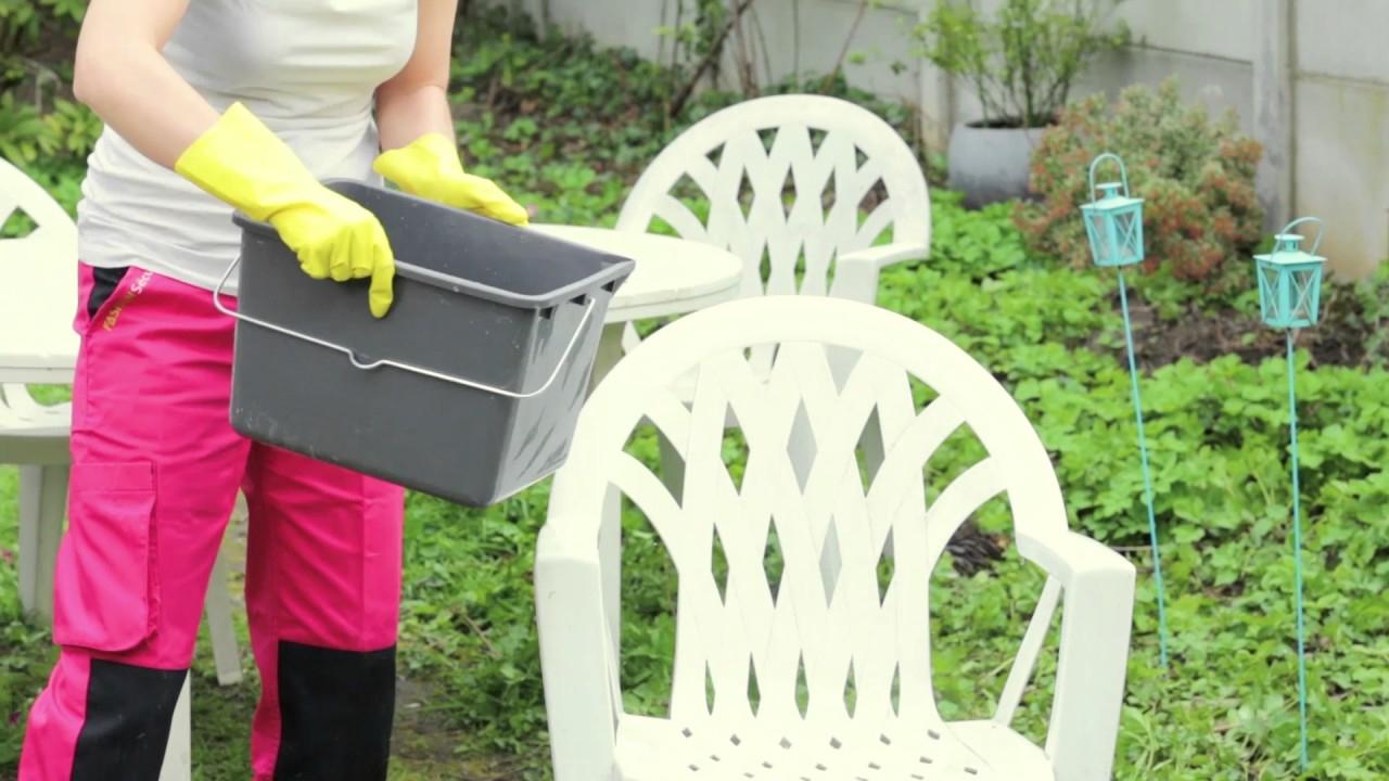 Comment Nettoyer Efficacement Le Mobilier De Jardin concernant Peinture Pour Meuble De Jardin En Plastique