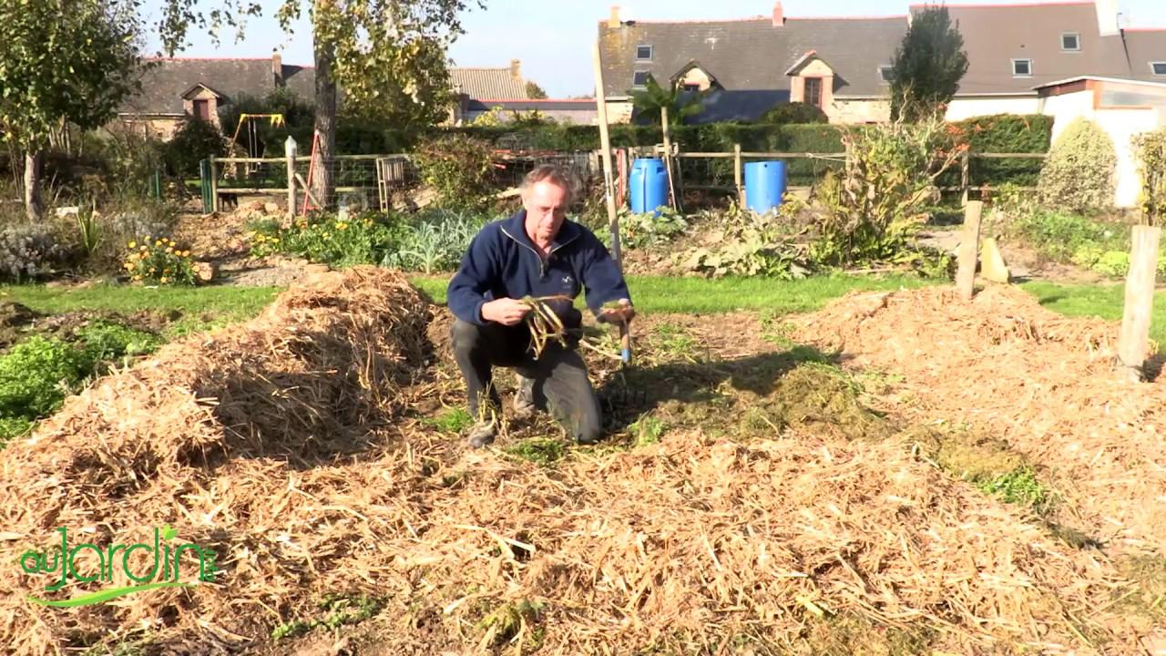 Comment Pailler Le Potager En Hiver ? concernant La Chaux Pour Le Jardin