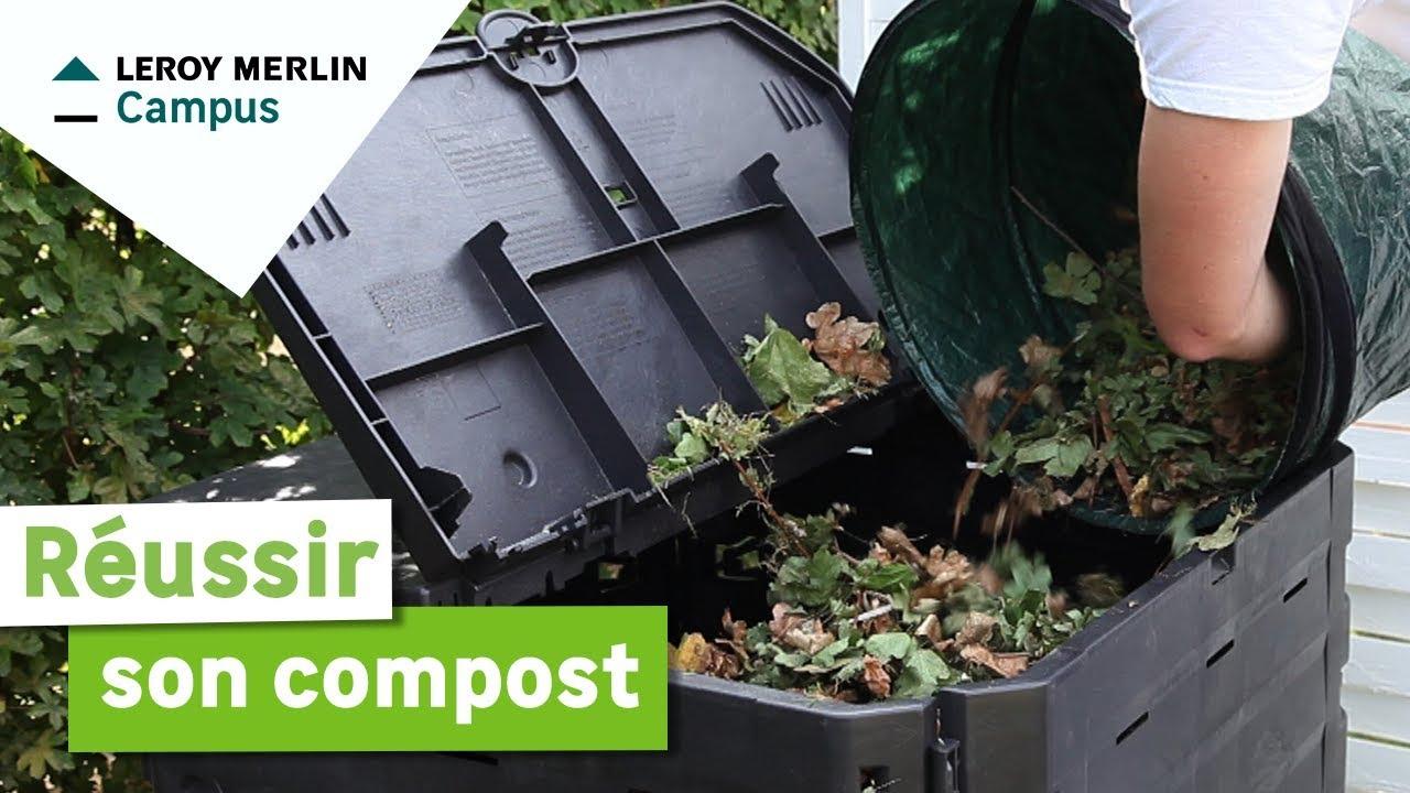 Comment Réussir Son Compost ? Leroy Merlin serapportantà Incinérateur Jardin Leroy Merlin