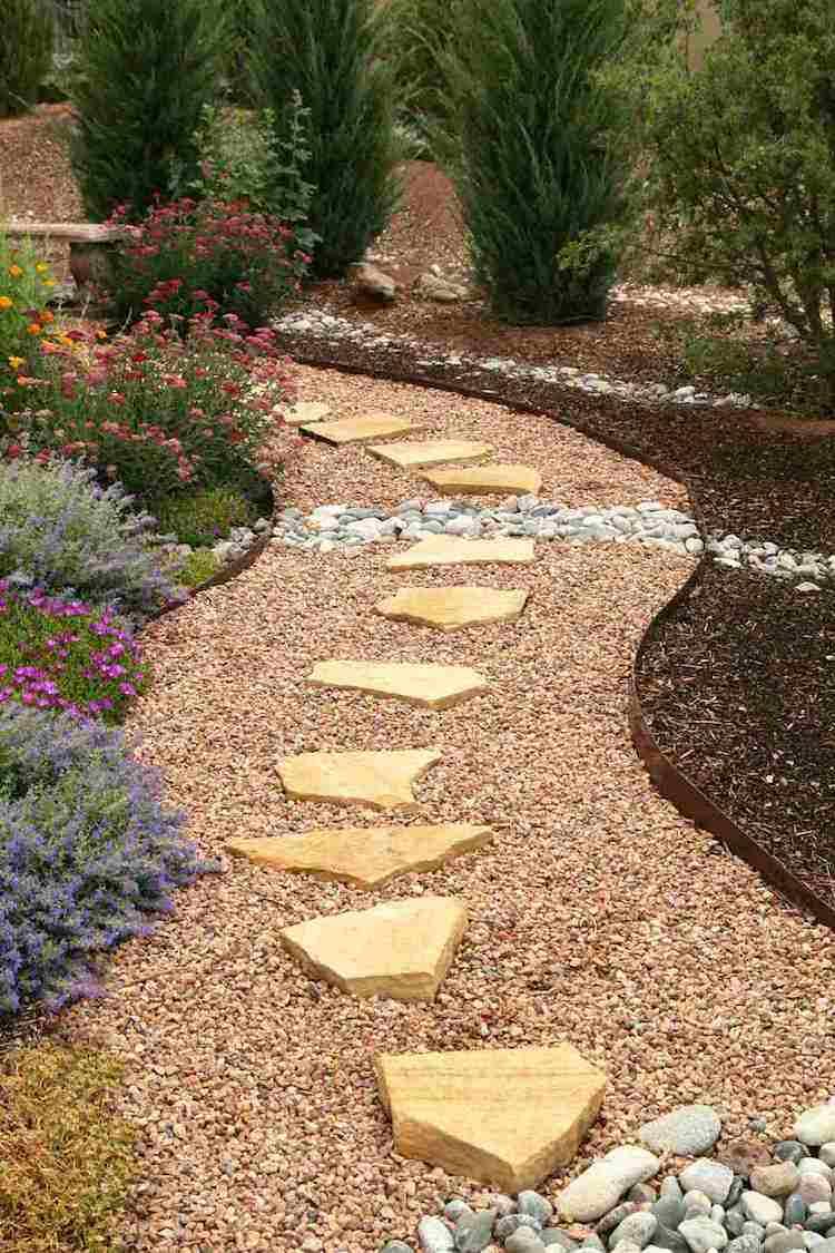 Comment Structurer L'espace Outdoor Grâce À La Bordure Pour ... à Bordure De Jardin En Pierre