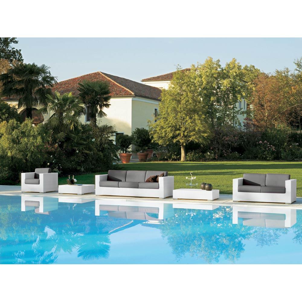 Composition Meubles Salon De Jardin Style Moderne Varaschin Cora dedans Salon De Jardin Cora