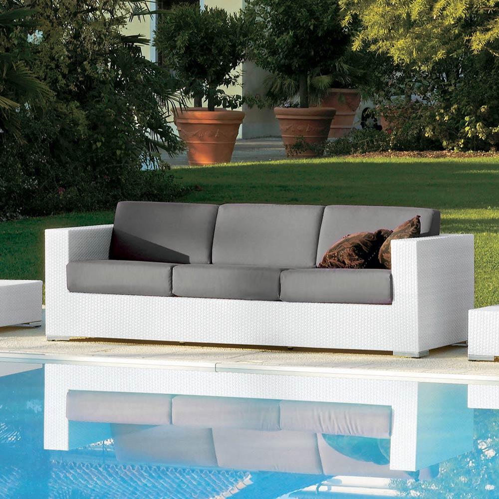 Composition Meubles Salon De Jardin Style Moderne Varaschin Cora destiné Salon De Jardin Cora