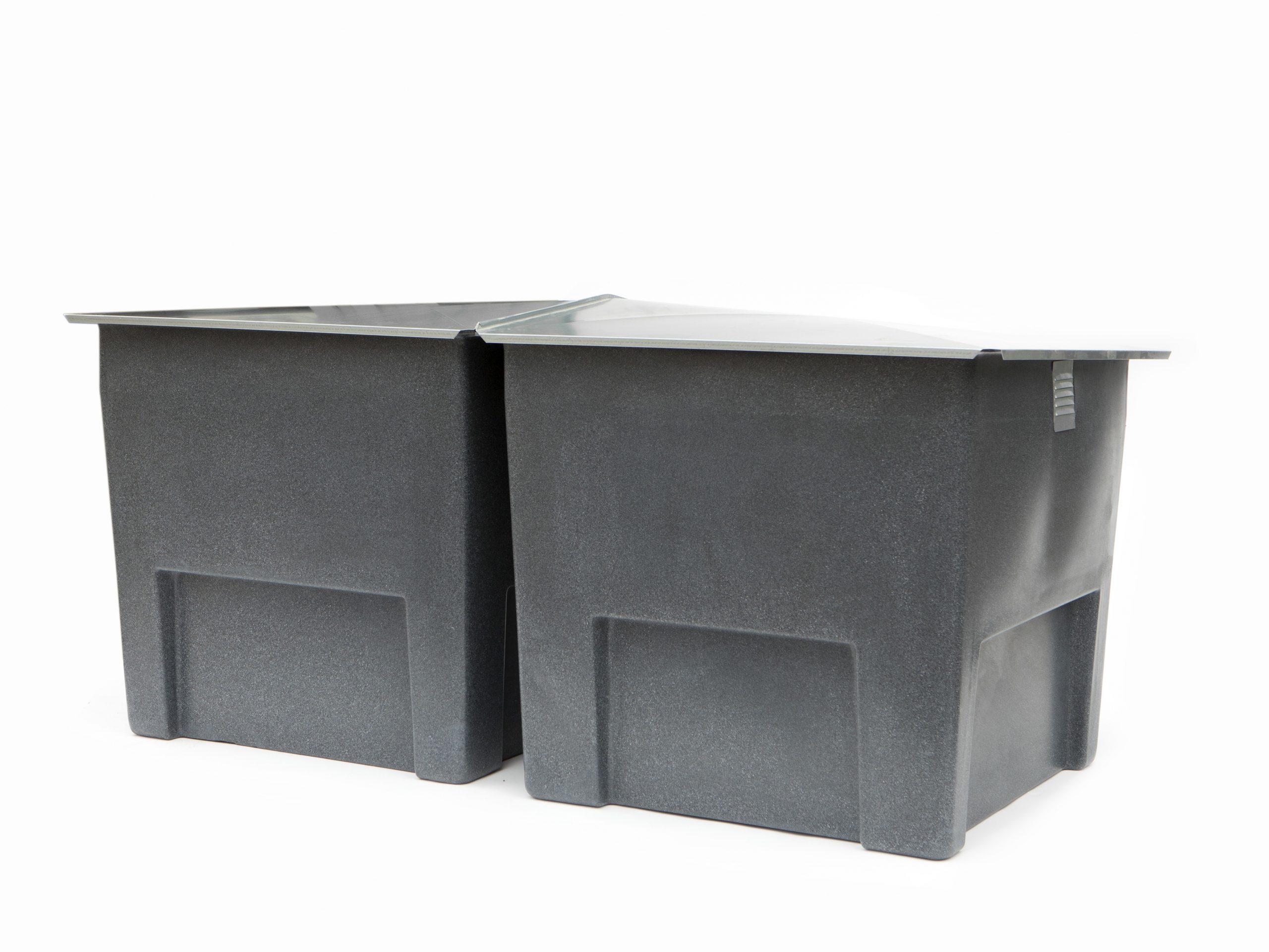 Composteur 2 X500L Pour 5 Personnes encequiconcerne Composteur De Jardin