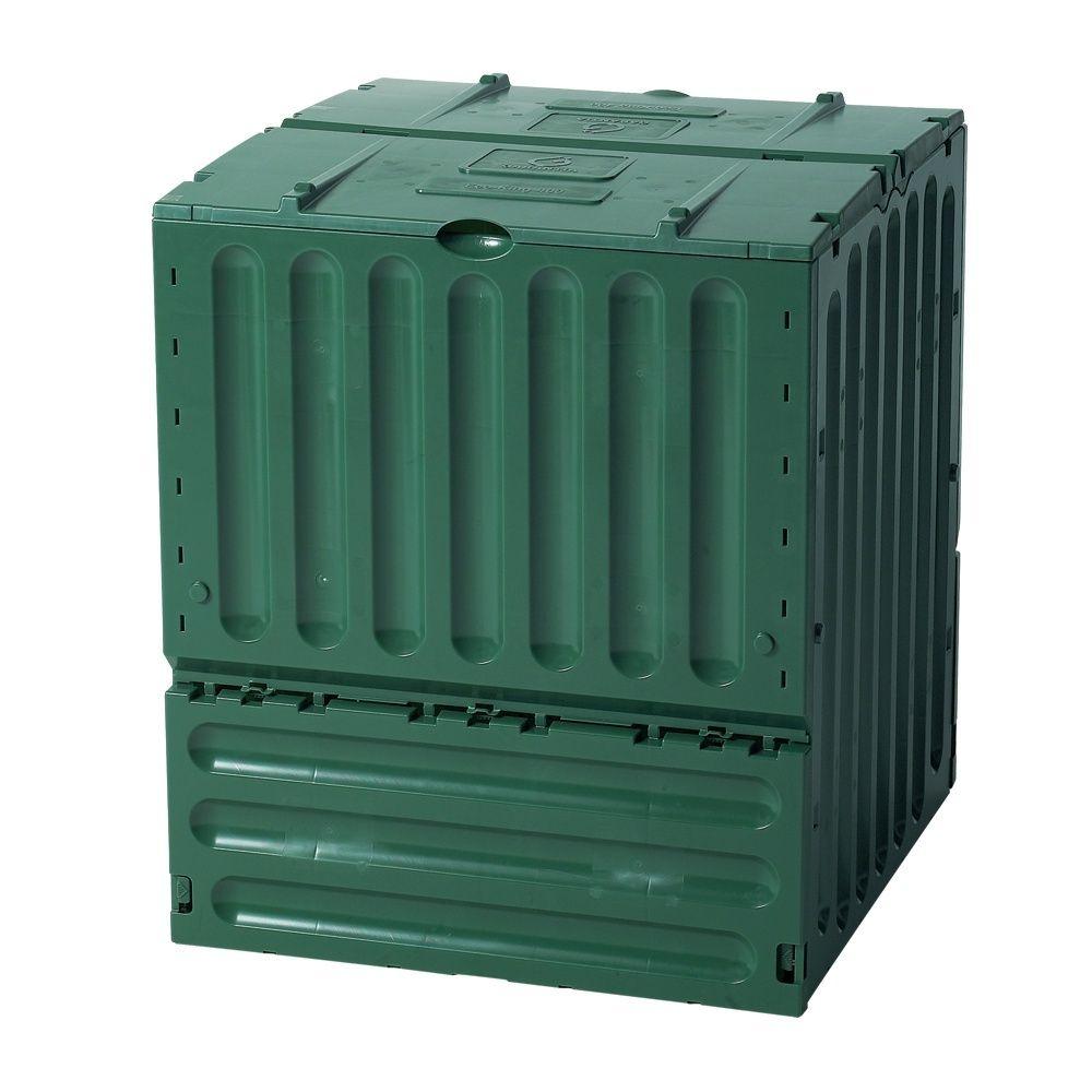 Composteur Eco-King Vert 400L, Garantia avec Composteur De Jardin