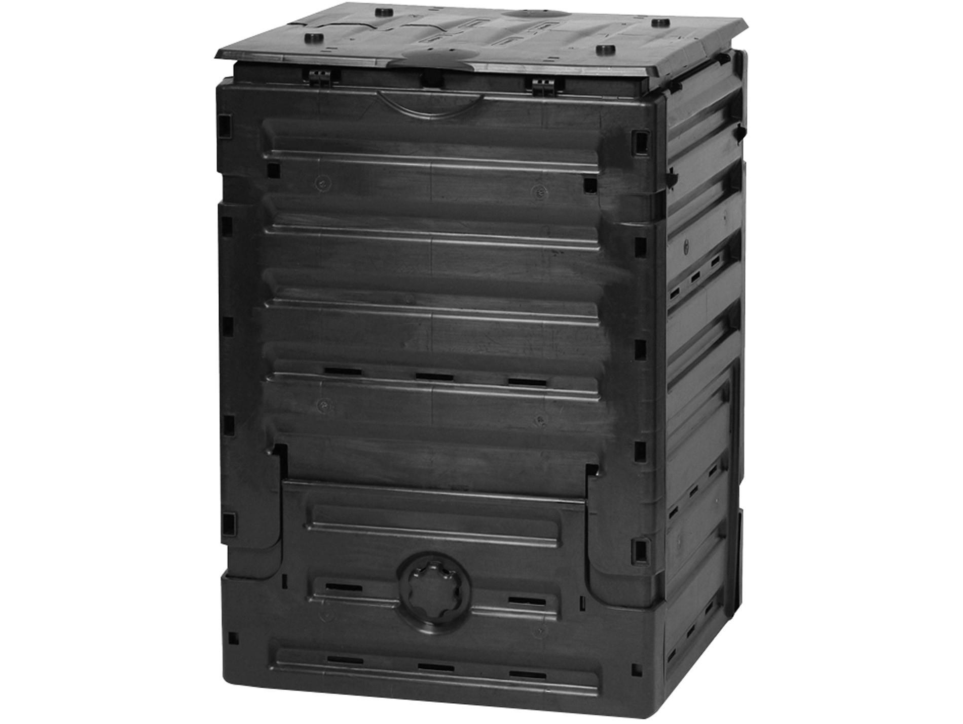 Composteur Eco Master 450L - Composteur, Incinérateur De ... dedans Incinerateur Jardin