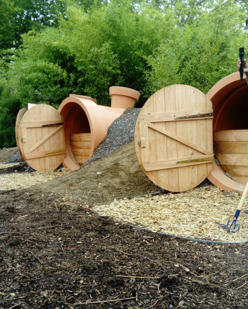 Compostri Inauguration Du Compotsteur Du Jardin Des Plantes destiné Composteur De Jardin