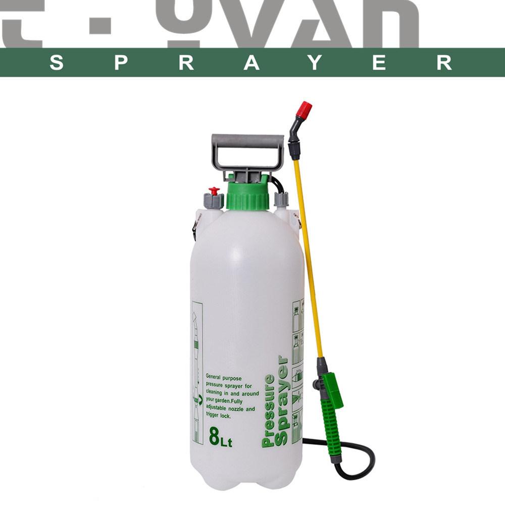 Compression De La Main En Plastique 8L'eau Du Réservoir En ... dedans Pulverisateur Jardin